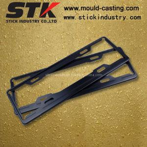 Placa de aleación de zinc el bastidor para accesorios de coche (LP001)