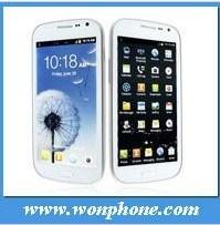 Doppel-SIM GPS WiFi androides 3G Mtk6577 Telefon S3 I9300