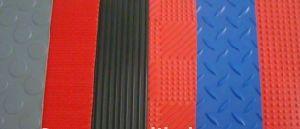 Tapis en caoutchouc en plastique en PVC (engrenage)