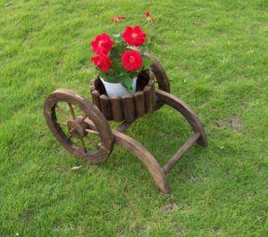 Коричневый держатель растений сад котел для цветов