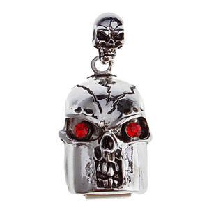 宝石類のネックレスの頭骨のPendriveのフラッシュ・メモリUSBのフラッシュドライバー