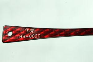 Het Blad van de Acetaat van de cellulose dat voor Optisch Frame, de Decoratie van het Haar, de Toebehoren van de Manier wordt gebruikt (hb-0020)