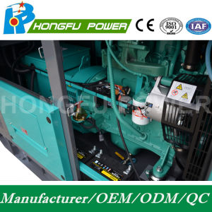 60kw 75kVA Cummins Dieselgenerator-Set mit galvanisiertem Kabinendach