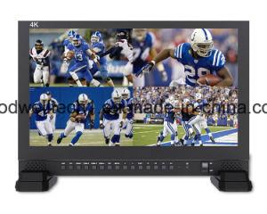4K 3840X2160 Sendungs-Vierradantriebwagen-Bildschirmanzeige-Quadrat LCD volles HD HDMI kleines 17.3  TFT LCD