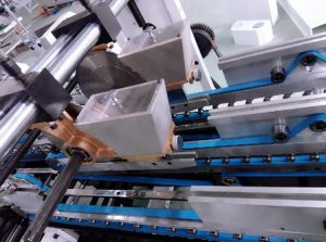 [سمي-وتومتيك] حارّ إنصهار غراءة حلو علبة صندوق [غلوينغ] آلة ([غك-650ك])