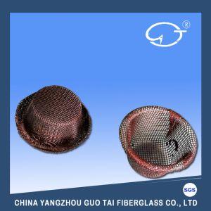 帽子の形溶解したアルミニウム水ガラス繊維フィルター網