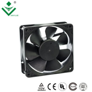 120*120*38mm 5 lames/7 lames haute pression du ventilateur de 48V CC