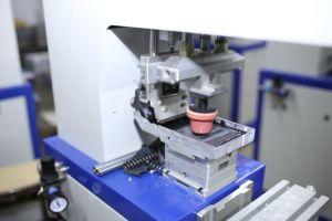 기계를 인쇄하는 1개의 색깔 회전 Tampografia 잉크 쟁반 특별한 패드