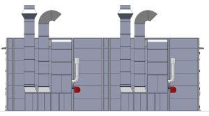Grosser Größen-Lack-Spray-Stand/Bus-Spray-Stand für Verkauf