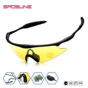 Wrap Around Prolight Andar Google logotipo impresso Personalizado Óculos  Partido desportos ao ar livre óculos com lentes amovíveis 0a25f57d73
