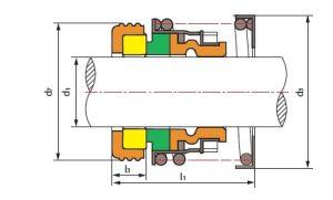 Vedação Mecânica usinada -Ts T2