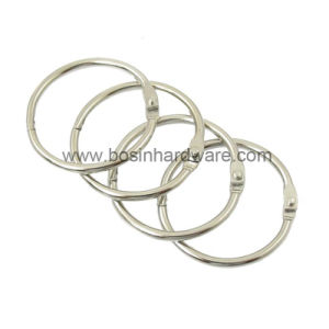 Металлический навесной пружинное стопорное кольцо для цепочки ключей