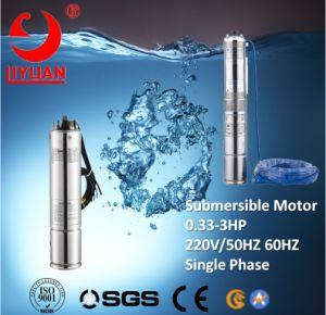 Qj Pomp de Met duikvermogen van het Boorgat van de Motor van de Pomp van de Enige Fase van 4 Duim