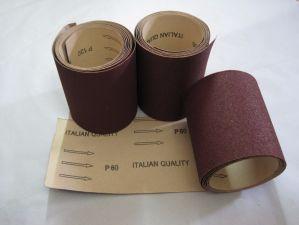 Бумага песка крена ткани абразивной бумага алюминиевой окиси для машины силы