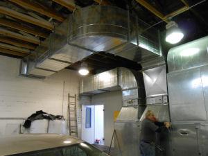 Spray-Stand für wasserbasierten Lack-Stand