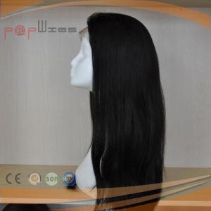 波状のバージンの毛自然なカラー完全なレースのかつら(PPG-l-1773)