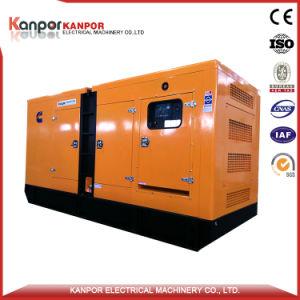 La KPC388 60Hz, trois phases de 1800tr/min, le premier groupe électrogène de type silencieux sortie 280KW 350kVA, veille 311KW 388kVA générateur diesel Cummins (NTA855G1B)