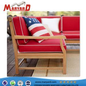 ヨーロッパの現代簡単なファブリックソファーおよび屋外の家具の庭のソファー