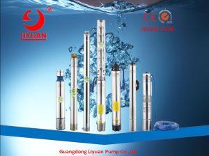 4sp Pompe Submersible 2HP-10HP en acier inoxydable AISI 304 de la pompe à plusieurs degrés