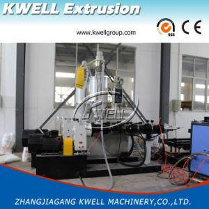PVC de alto rendimiento de la pared del tubo ondulado de doble línea de producción de extrusión