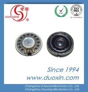 Altoparlante di citofono dell'altoparlante Dxi28n-B 28*3.5mm del diametro 28mm Mylar