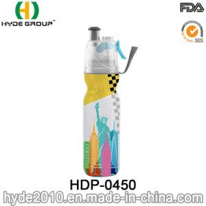스포츠 플라스틱 두 배 벽 살포 물병 (HDP-0450)