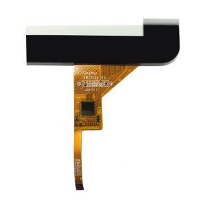 painel táctil de 4,3 polegadas com ecrã táctil capacitivo impermeável de carro