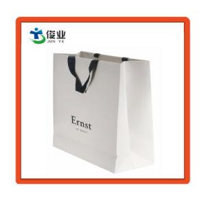 8e7164d2e El envío de ropa personalizada impresión de relieve el papel del embalaje  en bolsas con asa