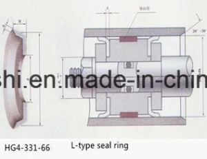 Verschleißfestigkeit NBR L Dichtungsring von der China-Fabrik
