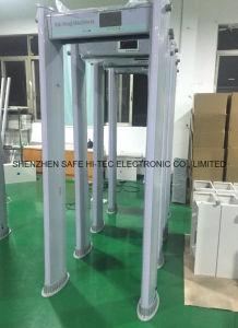 De multi Veiligheid die van de Streek Gang controleren door de Deur van de Detector van het Metaal het Aftasten SA300E van het Lichaam