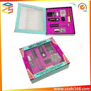 Роскошный подарочная подарочная упаковка бумаги с внутренний лоток для косметических косметической продукции