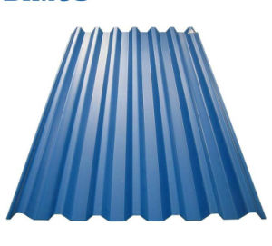 Strato /Lamina De Acero Galvanizado Prepintado delle mattonelle dell'onda galvanizzato strato ondulato della lamiera di acciaio del tetto