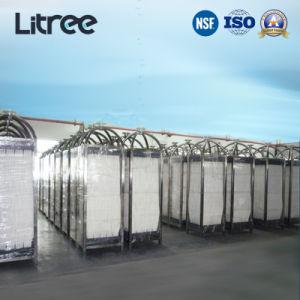 Immergé UF membrane pour un traitement avancé des lixiviats de décharge