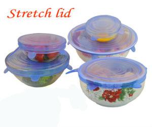 適用範囲が広い8つのサイズか再使用可能なか食品等級のシリコーンの伸張の吸引のふた