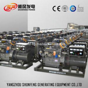 De stille Diesel van de Stroom van 38kVA Geluiddichte Weichai Ricardo Reeks van de Generator