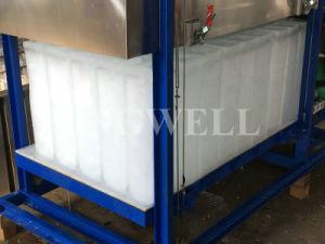 Ghiaccio in pani di raffreddamento diretto industriale di Kingwell Commerical che fa macchina da vendere Filippine