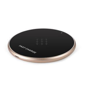 机のSamsungギャラクシーのための速い無線充電器のパッドのチーの立場の速い充電器