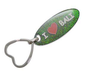 여행자 기념품 반짝임 열쇠 고리