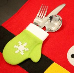 OEM de Welkome Lijst Placemat van Kerstmis van de Mat van de Plaat van het Restaurant van de Eetkamer