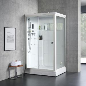 A Europa Marcação sauna interior Cabina com banho de chuveiro