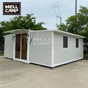 Luxury pequenos portáteis móveis modulares Dobrável Construções prefabricadas recipiente expansível