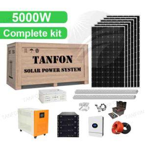 Système d'alimentation solaire 15kw 20kw 25kw hors réseau Kit de panneau solaire Système d'accueil