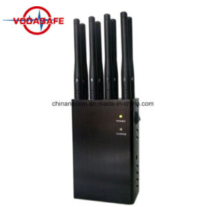 Portable 4G Móvil Bloque Jammer Teléfono celular CDMA GPS GSM 3G WiFi Lojack,precio de fábrica! ! !Jammer inalámbrica GSM/SMS,Promoción Venta caliente Home GPS Portátiles Jammer