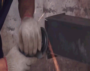 전락 벨트 작은 배럴 드럼 탄 폭파 기계