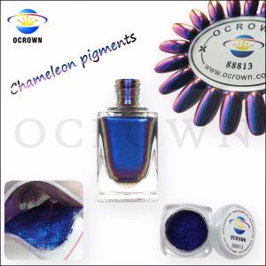 Polvere del bicromato di potassio del pigmento di spostamento di colore del Chameleon per la vernice del polacco di chiodo