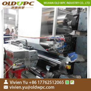 Rvpのフロアーリングの贅沢なビニールの板Spcのフロアーリングの生産の機械装置