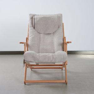 Una buena venta madera sillón con Back Roller y Vibrador