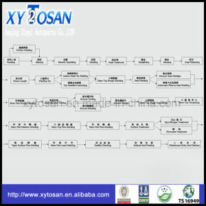 Válvula de motor Suzuki 462/ 465/ 474/ G16A (TODOS LOS MODELOS)