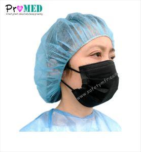 涼しく黒い外科医者マスク