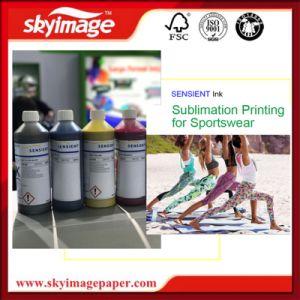 Inchiostri europei di sublimazione del getto di inchiostro di Sensient di alta qualità per stampa di Digitahi